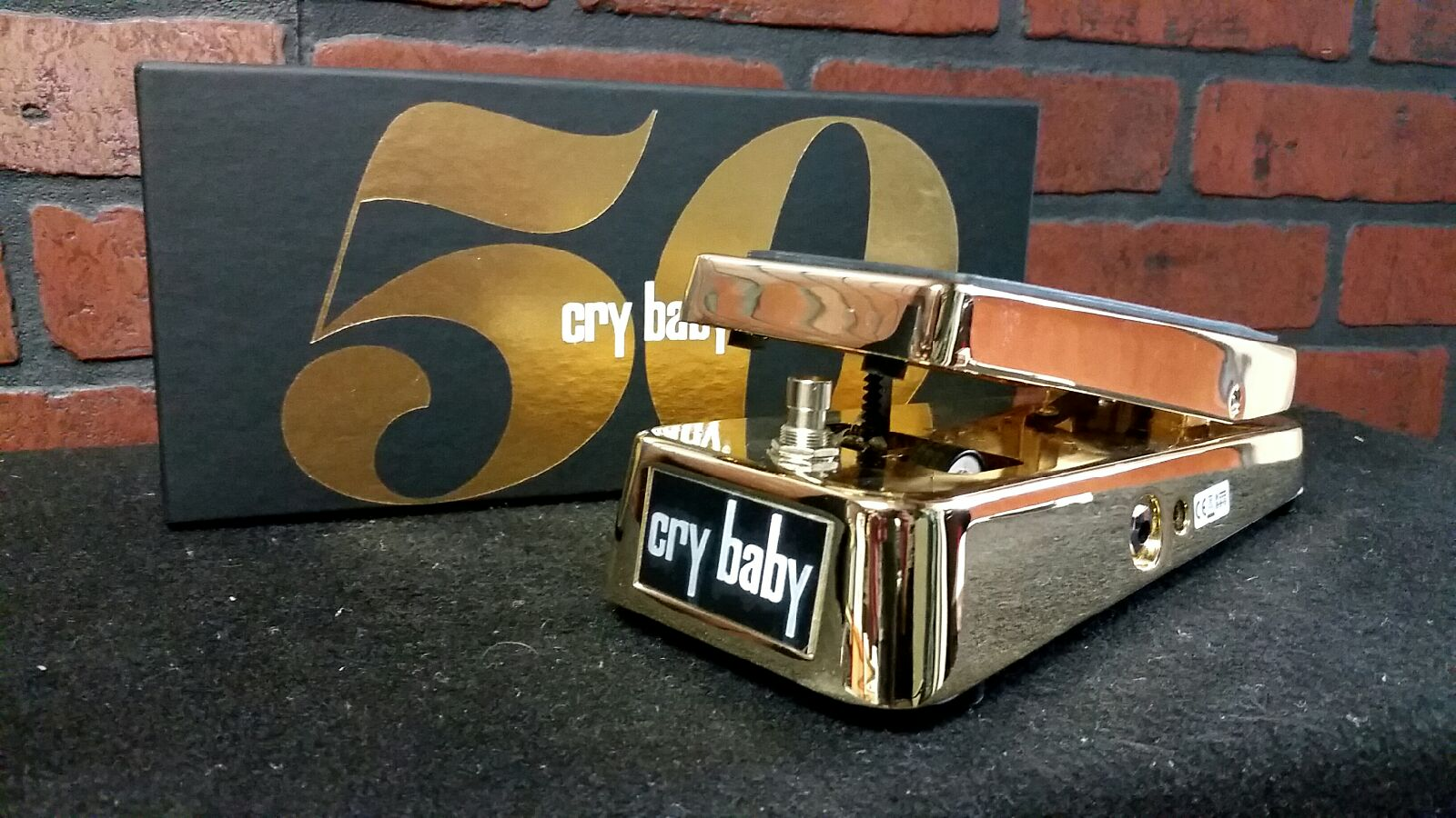 DUNLOP 50th Anniversary Cry Baby wah pedal