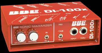 DI-100X DI Sonic Maximizer DIRECT BOX