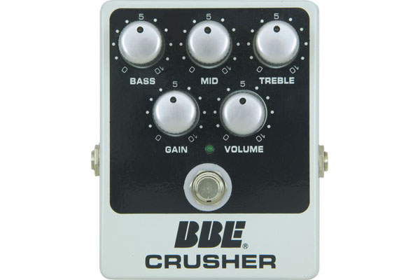BBE Crusher Distortion Guitar Pedal