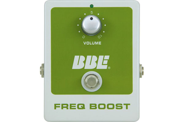 BBE Freq Boost Treble Booster Guitar Pedal