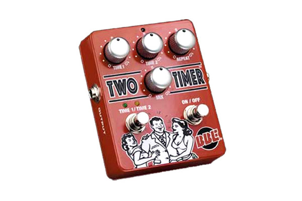 BBE Two Timer Analog Delay Guitar Pedal