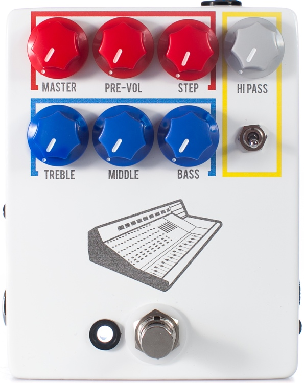 JHX Colour Box preamp pedal