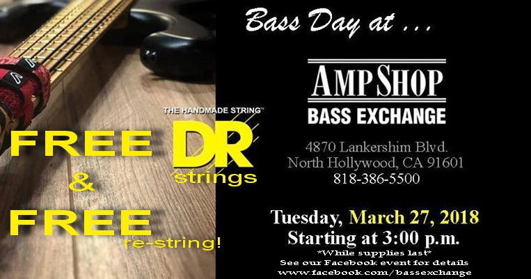 DR FREE Bass ReString Event!