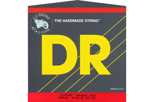 DR Lo-Rider Stainless Steel Bass Strings MH5-45