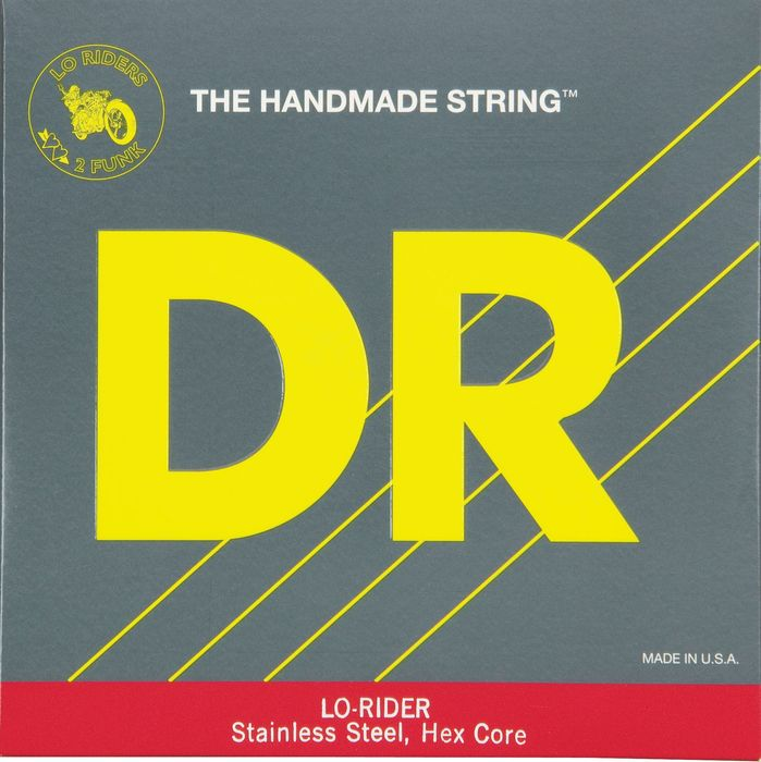 DR Strings Lo Rider MLH-45 Medium Lite Stainless Steel 4-String