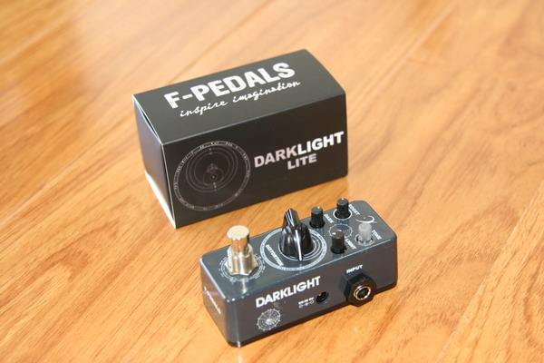 F-Pedals Darklight Distortion-Eddie Kramer Series