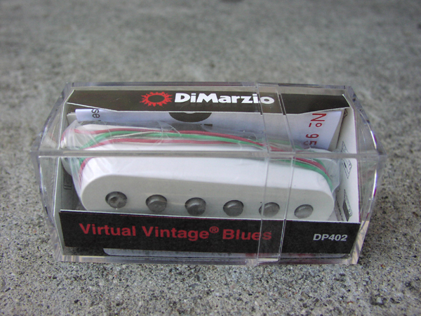Di Marzio Virtual Vintage Blues DP402 Guitar pickup