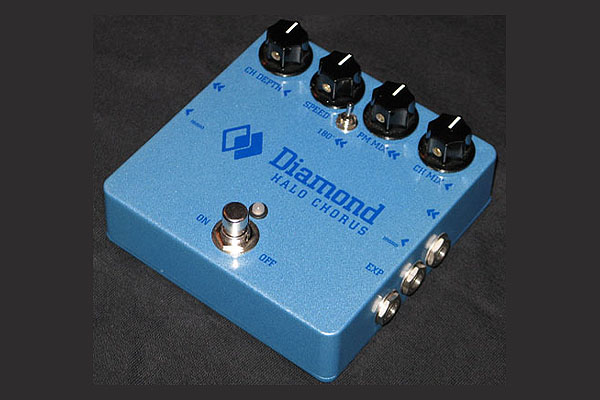 Diamond Halo - Stereo Chorus Guitar Effects Pedal