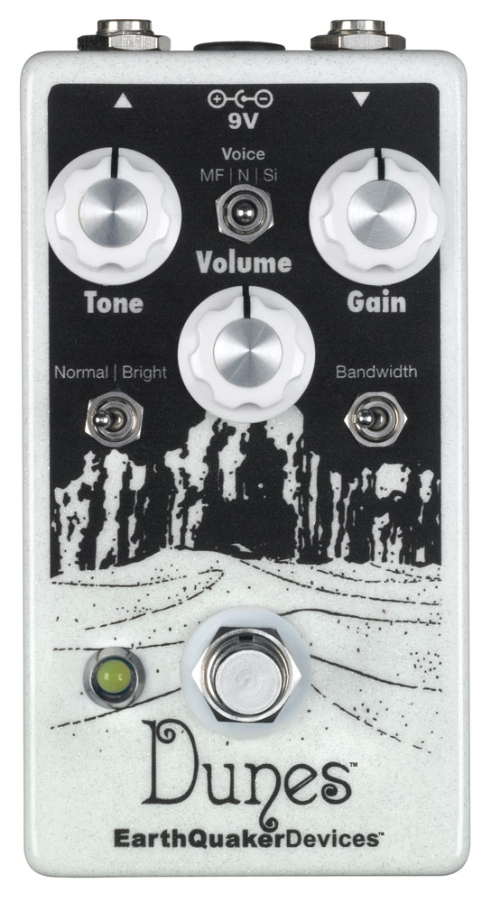 EARTHQUAKER Dunes overdrive pedal