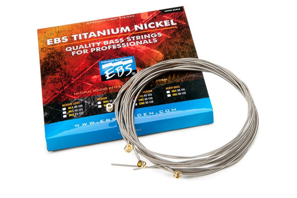 EBS Titanium Nickel Bass Strings 4