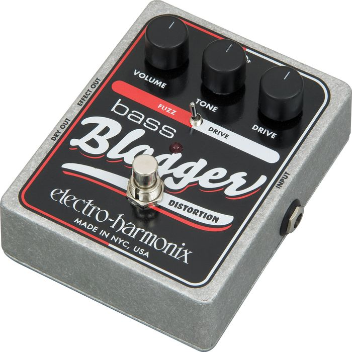 Electro-Harmonix XO Bass Blogger Distortion Effects Pedal
