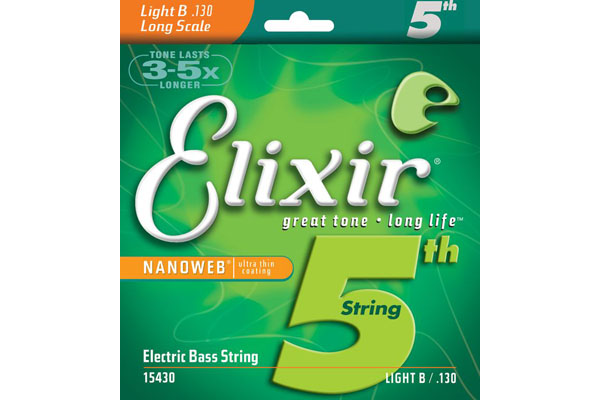 Elixir 5th bass string light gauge B 15430