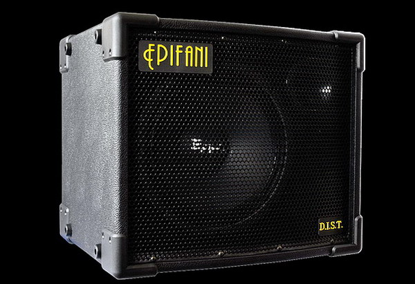 Epifani UL DIST 112 Black Bass Cabinet - Selectable 8 or 4 Ohms