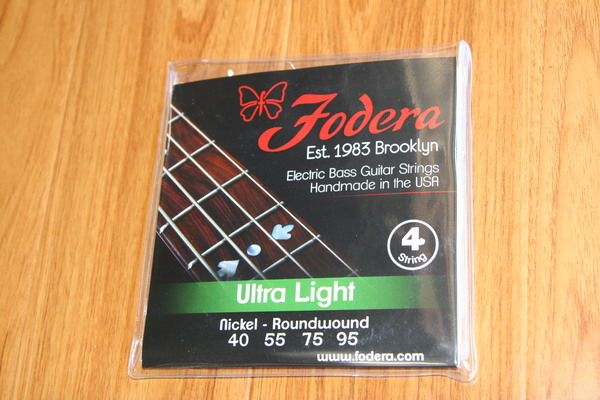 Fodera BassStrings- 4 String Ultra Light Nickel