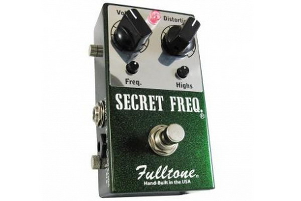 Fulltone Secret Frequency Overdrive/Distortion Guitar Effects Pe