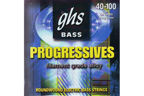 GHS Progressives L8000 Roundwound