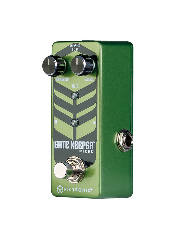 PIGTRONIX Gate Keeper Micro noise-gate pedal