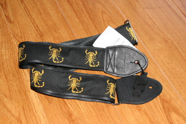 "Souldier 2"" Guitar Strap 0231 Scorpions"