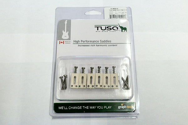Graph Tech Tusq Saddles for Strat and Tele 2 1/16