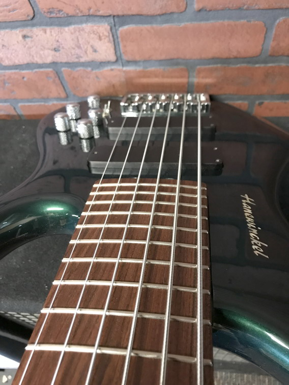 HANEWINCKEL Custom Shop Headless Traveller 6 bass