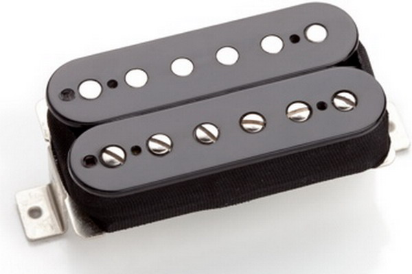 Arcane Inc Pickups Triple Clone Humbucker Black Bridge
