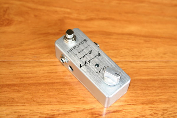 One Control Pedal Granith Grey Booster