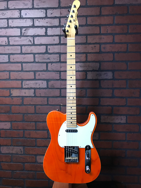 G&L ASAT Classic Clear Orange w/ Custom Shop Upgrades