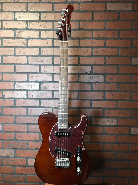 G&L ASAT Special Whiskey w/custom shop upgrades