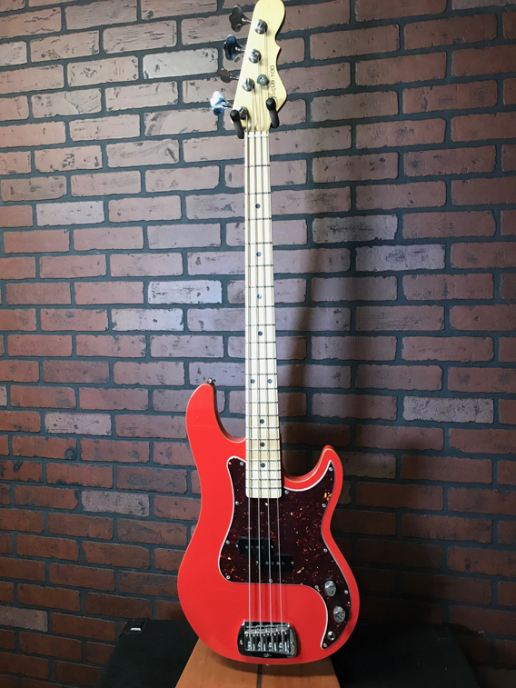 G&L USA LB-100 P bass Fullerton Red w/ Custom Shop Upgrades