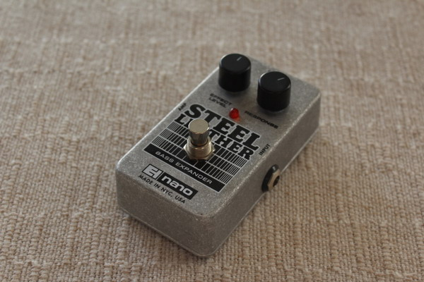 Electro Harmonix Steel Leather Bass Attack Expander