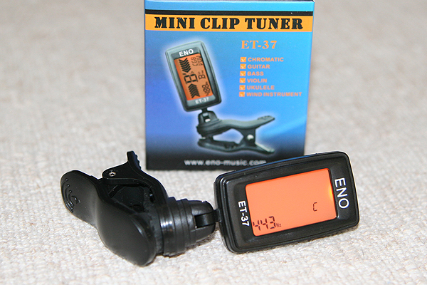 ET-37 Clip on Guitar Tuner-Buy One Get One 50% off!