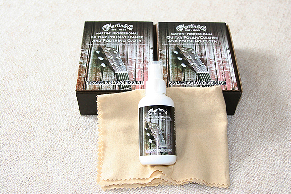 Martin 18AKIT0002 Professional Guitar Polish/Cleaner Kit