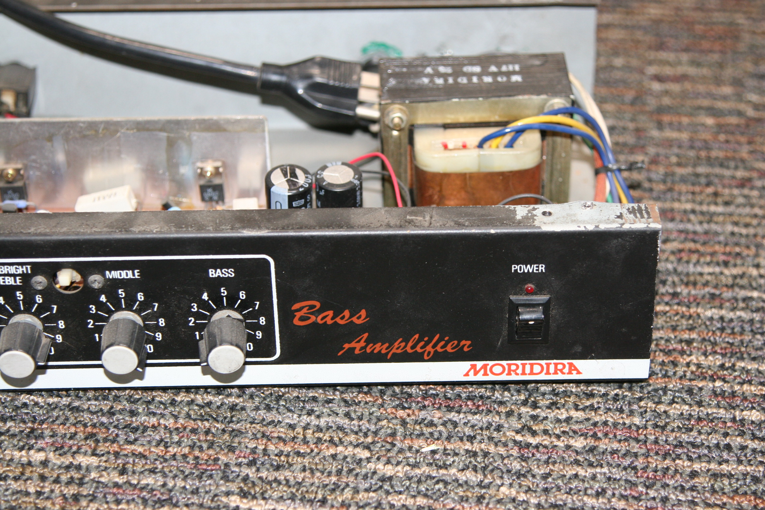 Bass Amp Chassis