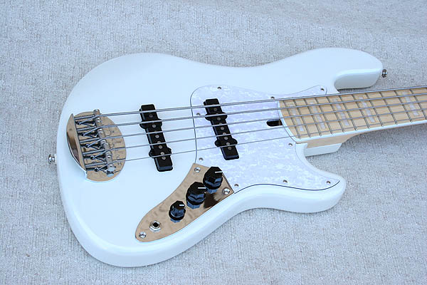 Lakland Darryl Jones Signature White Pearl 5 String Bass