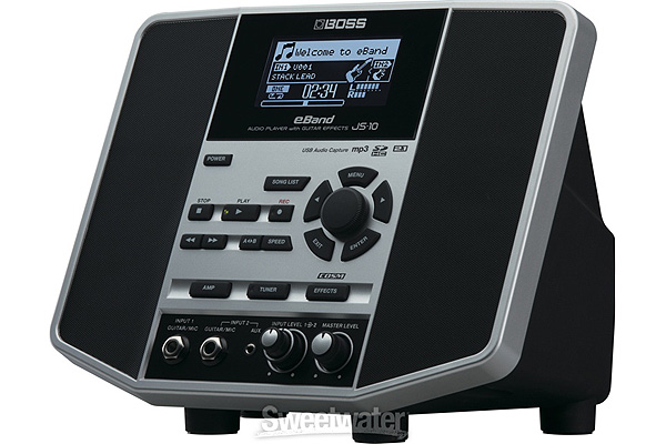 BOSS JS-10 AUDIO PLAYER W/GUITAR EFFECTS