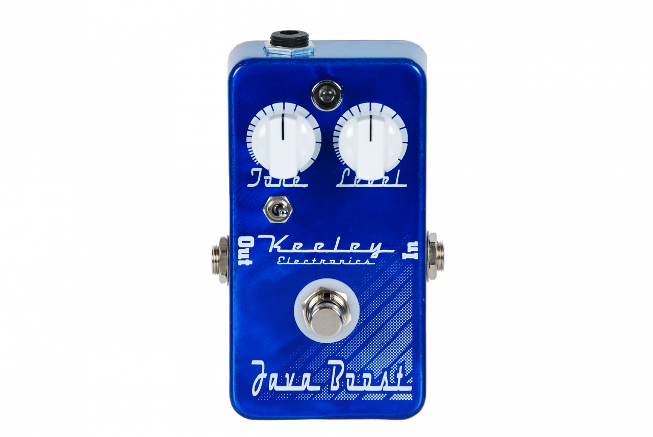 Keeley Electronics Java Boost Germanium Treble Booster Pedal