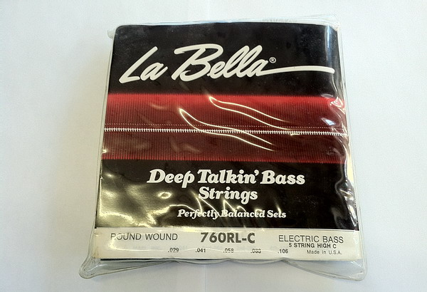 La Bella 760 RL-C Roundwound Bass Set