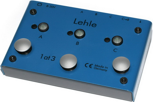 Lehle 1 at 3 SGoS A/B/C Switcher for one instrument to 3 amps