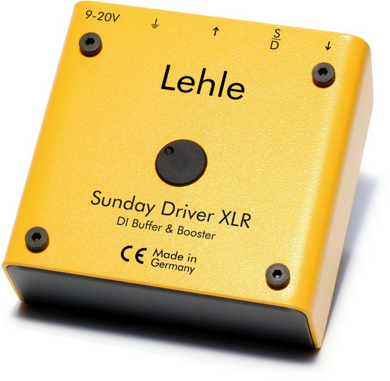 Lehle Sunday Driver XLR DI Buffer and Booster
