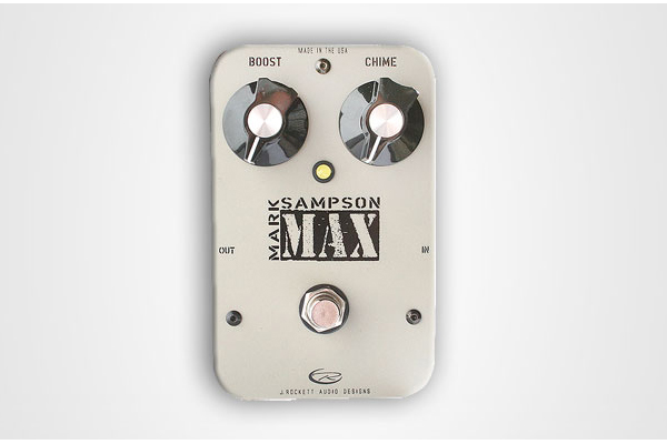 Rockett Pedals Mark Sampson Max Booster/Harmonic Enhancer