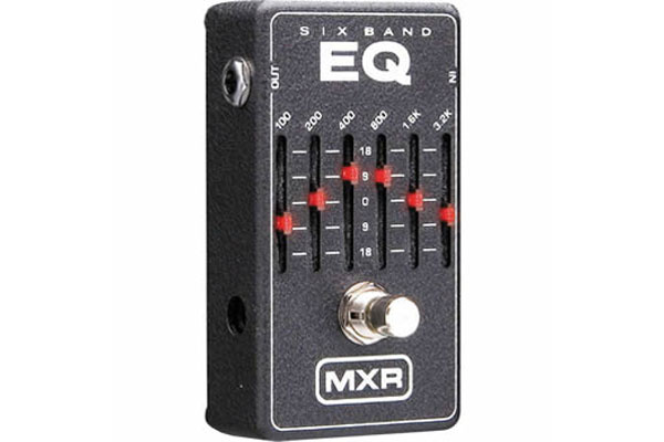 MXR Six Band Equalizer Guitar Pedal