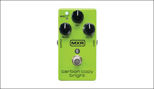 MXR Carbon Copy Bright delay pedal