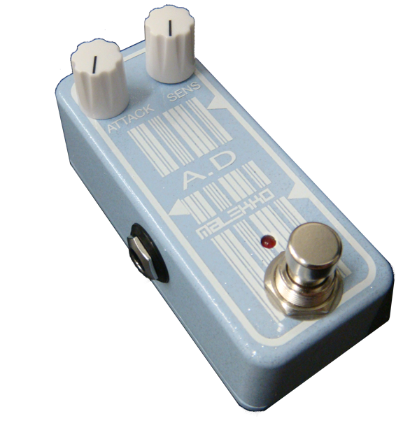 Malekko Omicron Series analog attack/decay Guitar Pedal