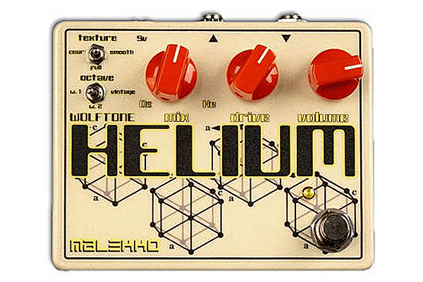 Malekko Heavy Industry Wolftone Helium Analog Octave Distortion