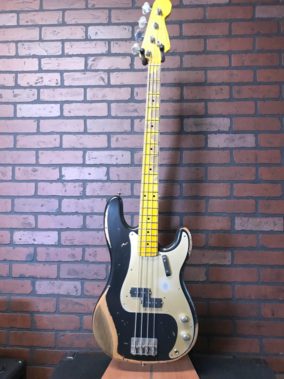 NASH PB-57 P-style bass in aged black