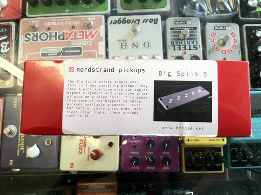Nordstrand Pickups Big Split 5 Split Coil 5 Bass Pickup Set