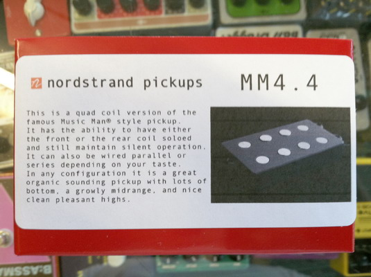 Nordstrand MM4.4 Bass Pickup
