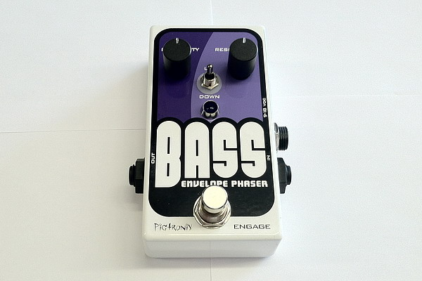 Pigtronix Bass Envelope Phaser Pedal