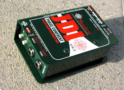 Radial JDI Mk3 Passive Direct Box