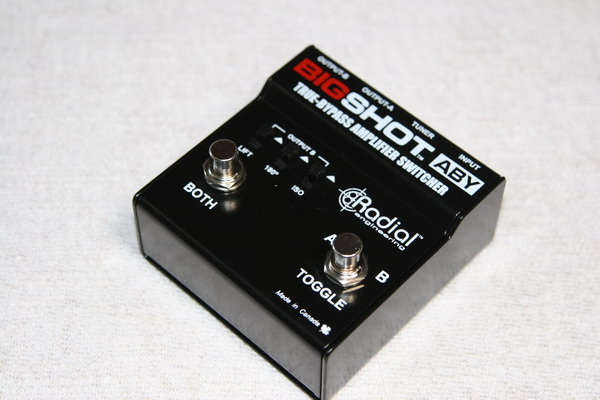Radial Big Shot ABY Switcher